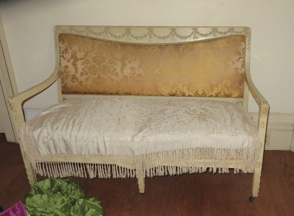 shawl covers split upholstry